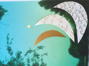 Der Mond ist nicht immer am Himmel